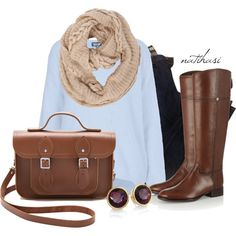 """""""It's almost Winter Outfit"""" by natihasi on Polyvore"""