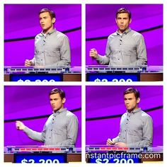 This contestant is probably the hottest Jeopardy player in many seasons. Who is Tom? #jeopardy