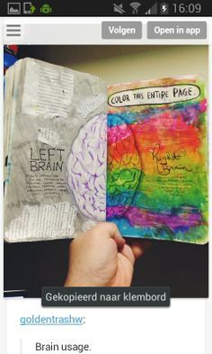 Wreck This Journal Ideas. OMG I love this! this is my lock screen on my laptop!!!