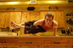 This makes me love Rick Bayless even more!!  A chef and a yogi?  Yes please!