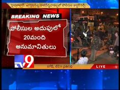Police search operation in Jagadgirigutta