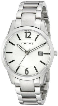 Cross Men's CR8028-22 Gotham Medium Analog Display Japanese Quartz Silver Watch - http://yourperfectwatch.com/cross-mens-cr8028-22-gotham-medium-analog-display-japanese-quartz-silver-watch/