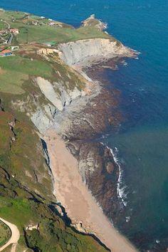 Playa de Serin, Asturias