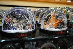 Mystery Mine snowglobes and many more at the Dollywood Emporium