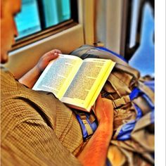 Reading in Berlins Public Trains