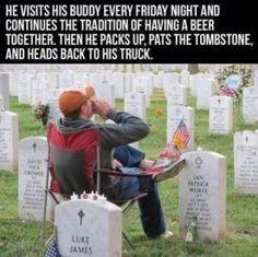 Love this... true friendship never dies