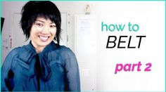 How To Belt & Sing in Mixed Voice | The Songbird Tree