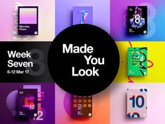 Made You Look Week 8 Collection by  StudioJQ  #Design Popular #Dribbble #shots