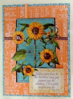 Time To Flourish Decorative Frame August Clare Charvill Jones Crafts Graphic 45