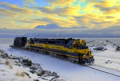 The Alaska Railroad: America's only full-service railroad, offering both freight and passenger service year round.