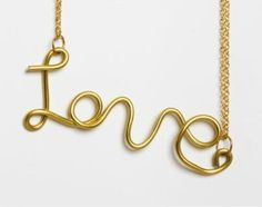 LOVE Necklace, £10.00
