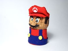 Instructables Super Mario Brothers Champagne Cork   DIY Craft Nintendo NES Video Games
