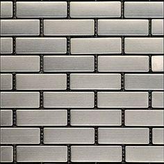 stainless steel tile mosaic metal