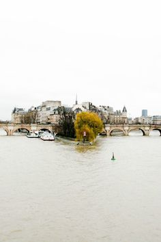 The seine, Paris.