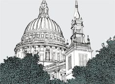 Claire Rollet - Architectural and Ink Illustrator Based in London