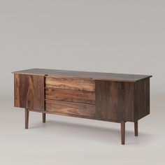 Pullman Walnut Credenza 75"