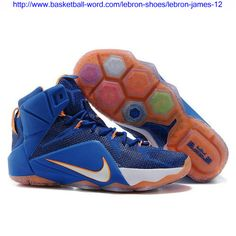the latest c7e34 466c9 Lebron 12 P.S Elite Navy Blue White Orange, cheap Lebron 12 Mens, If you  want to look Lebron 12 P.S Elite Navy Blue White Orange, you can view the Lebron  12 ...