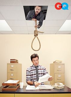 Charlie Day & Jason Bateman - Just hanging out...