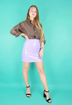 Olive Green Pure Silk Oversized Long Sleeved Shirt | Bags 2 Bitches | ASOS Marketplace