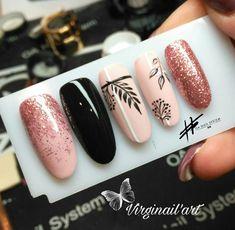 Chic Nails, Stylish Nails, Fall Nails, Nail Art Designs, Acrylic Nails, Finger, Color, Long Nails, Pretty Nails