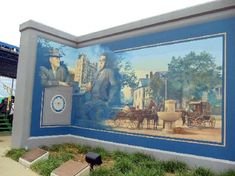 6. The Paducah Flood Wall murals offer a unique glimpse of the history of the town, and yes, they're actually on the flood wall.