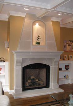 1000 Ideas About Cast Stone Fireplace On Pinterest Stone Fireplace Mantel Fireplace Mantels