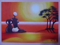 Mi primer cuadro en el taller Pintura Decorativa