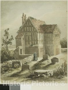 <p>School House at Kings Norton Near Birmingham</p><p>We print high quality reproductions of historical maps, photographs, prints, etc. Because of their historical nature, some of these images may show signs of wear and tear - small rips, stains, creases, etc. We believe that in many cases this contributes to the historical character of the item.</p> Birmingham England, Drawing Artist, Paul Gauguin, Japanese Paper, Art Institute Of Chicago, Historical Maps, Vintage Walls, Homeschool, Art Prints