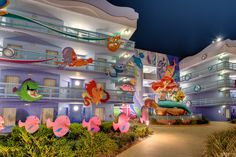 https://flic.kr/p/SM2nwD | An Undersea Party | Today's photo tour sends us back to the Art of Animation Resort for a shot of Ariel and her friends. I would have to rank this resort number one for photographing; there is always so much to see here. There are so many different variations and angles that you really cant go wrong or come out with a bad shot. Which resort is your number one to photograph? Have a magical day!  Visit Disney Photo Tour on Facebook and Instagram