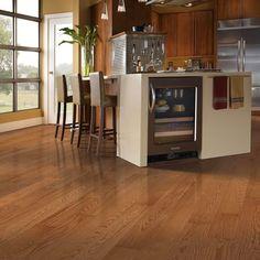 Mohawk Raymore Oak Gunstock 3/4 in. Thick x 3-1/4 in. Wide x Random Length Solid Hardwood Flooring (17.6 sq. ft. / case)-HCC57-50 - The Home Depot