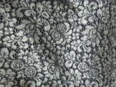 Купить Шерстяное кружево на трикотаже - серый, серое пальто, серое кружево, серый костюм