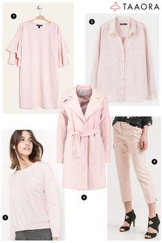 Rose poudré couleur tendance printemps-été 2017 >> http://www.taaora.fr/blog/post/rose-pale-couleur-mode-printemps-ete-2017-pantone-pale-dogwood #rose #ss17 #pantone #color