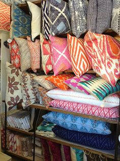 Pillows by John Robshaw