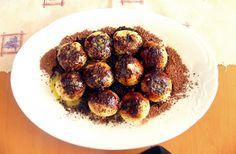 Jahodové knedlíky s grankem a máslem :) Ethnic Recipes, Food, Essen, Meals, Yemek, Eten