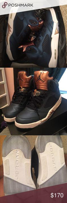 "Jordan V ""copper"" Worn once! Jordan Shoes Sneakers"