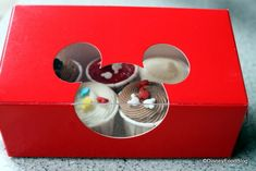 Disney Food For Families: Steal This Idea — Mini Disney Cupcakes at Home | the disney food blog