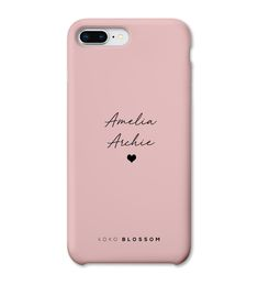 Children's Names Personalised Phone Case - White / Tough / iPhone X