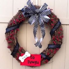 Georgia Bulldogs Wreath