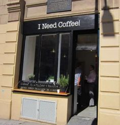 I Need Coffee , Prague Na morani/dittrichova