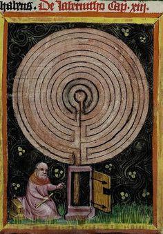 Vatican, Biblioteca Apostolica Vaticana, Pal. lat. 291, detail of f. 170v. Rabanus Maurus, De rerum naturis. 1425.