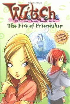 """""""The Fire of Friendship"""" by Elizabeth Lenhard - Things are heating up for Will, Irma, Taranee, Cornelia, and Hay Lin. Though they have the ability to control energy, water, fire, earth, and air, their powers cannot solve all of their problems. As they face more dangers-in both Heatherfield and Metamoor-tempers rise and tension builds. When they confront the evil forces of Meridian, the strength of their friendship is put to the ultimate test. (Book Four of the W.I.T.C.H. series)"""