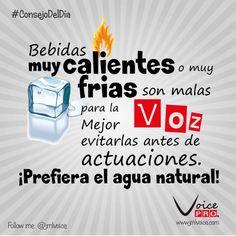 Ni frias, ni calientes. Prefiera el água natural. Dra. Janaína Mendes - VoicePRO #VozSana #Voice