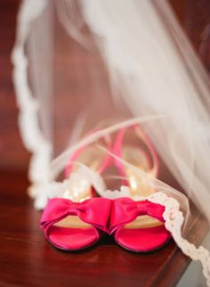 Fabulous Hot Pink Kate Spade Shoes From My Glamorous Midsummer Night Dream Wedding Photo By Beaux Arts Photographie