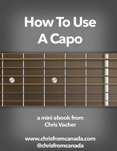 FREE ebook for worship leaders and guitar players.  A few of the things I cover in this ebook:  *Basics of using a capo *Different types of capos *How to buy the right capo *How to use a cut capo *Using a cut capo for alternate tunings *Advanced capo ideas *Next level suggestions and creative capo uses
