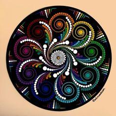Mandala Canvas, Mandala Artwork, Mandala Painting, Mandala Painted Rocks, Mandala Rocks, Dot Art Painting, Stone Painting, Mandala Art Lesson, Zen Art
