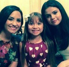 Selena Gomez amd Demi Lovato Delena