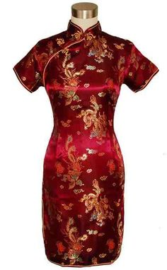 red chinese dress isa-s-dress-obsession