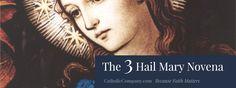 3 Hail Mary Novena Prayer