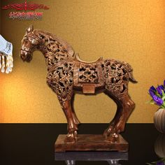 Cheap decorating style, Buy Quality decorative decorative directly from China decorative home decor Suppliers: 2016 Rushed Limited European Style Antique Carved Horse Ornaments French Resin Crafts Business Gift Home Furnishing Decorations