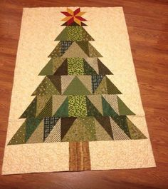 Christmas tree quilt idea looking for a wall tree for my quilt charms collected from the quilt run